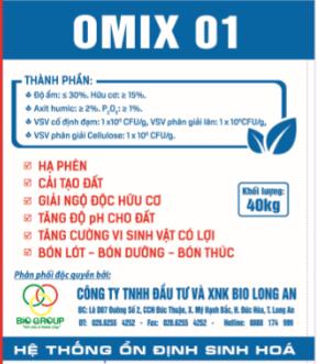 Hữu cơ vi sinh Omix 1